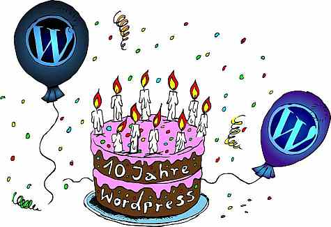 WP 10 <!  :de  >Happy birthday, Wordpress!<!  :  >