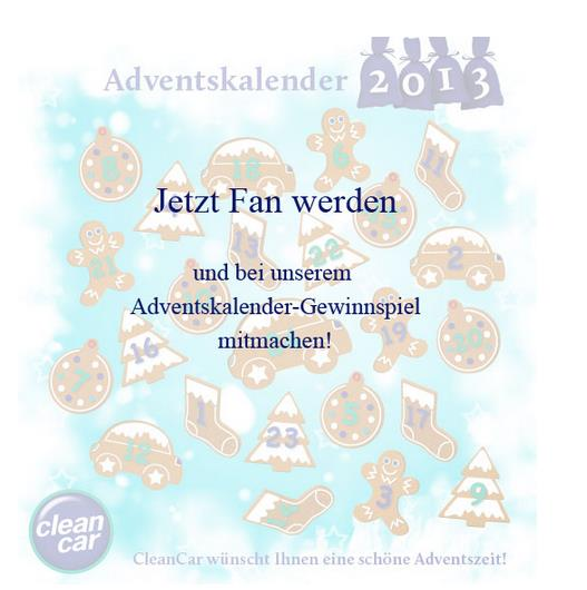 cleancar adventskalender Der digitale Adventskalender