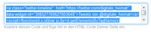 twitter widget code <!  :de  >Twitter, Facebook, Google+ in WordPress Widget einbinden<!  :  ><!  :en  >Embedding Twitter, Facebook and Google+ widgets into your WordPress website<!  :  >